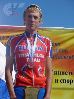 Поздравляем студента 1-го курса Игоря Полянского с успешным выступлением на Чемпионате России по триатлолну.